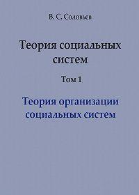 Владимир Соловьев -Теория социальных систем. Том 1. Теория организации социальных систем