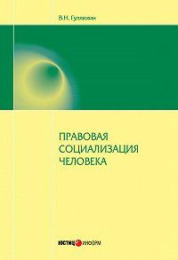 Вячеслав Гуляихин -Правовая социализация человека