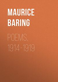 Maurice Baring -Poems, 1914-1919