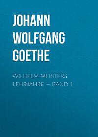 Johann Wolfgang -Wilhelm Meisters Lehrjahre – Band 1