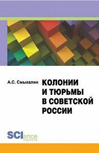 Александр Смыкалин -Колонии и тюрьмы в советской России. Монография