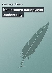 Александр Шохов - Как я завел однорукую любовницу
