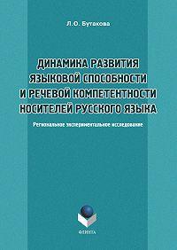 Л. О. Бутакова -Динамика развития языковой способности и речевой компетенции носителей русского языка. Региональное экспериментальное исследование