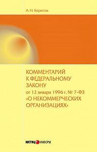 А. Н. Борисов -Комментарий к Федеральному закону от 12 января 1996 г. №7-ФЗ «О некоммерческих организациях» (постатейный)