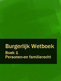 Nederland -Burgerlijk Wetboek boek 1