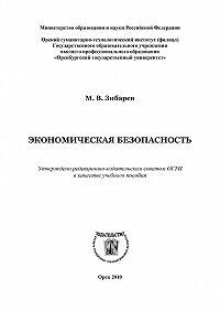 Михаил Зибарев - Экономическая безопасность