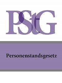 Deutschland -Personenstandsgesetz – PStG