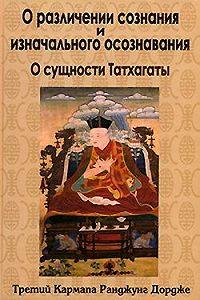 Третий Кармапа Ранджунг Дордже -О различении сознания и изначального осознавания. О сущности Татхагаты