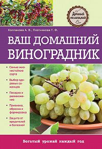 Анастасия Колпакова -Ваш домашний виноградник