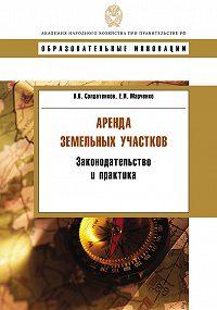 Владимир Солдатенков -Аренда земельных участков. Законодательство и практика