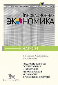 А. Киреева -Некоторые вопросы осуществления и поддержки инновационной активности в российской практике