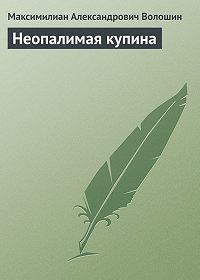 Максимилиан Александрович Волошин - Неопалимая купина