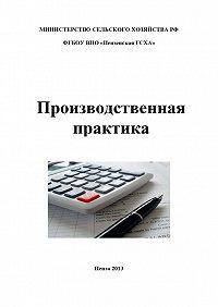 Наталья Бондина -Производственная практика по бухгалтерскому учету
