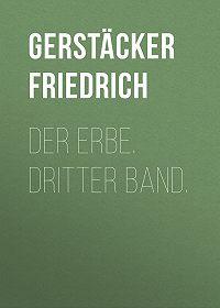 Friedrich Gerstäcker -Der Erbe. Dritter Band.