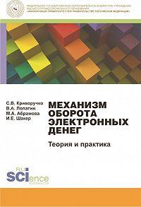 Ирина Шакер -Механизм оборота электронных денег. Теория и практика. Монография