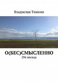 Владислав Тимкин -О(бес)смысленно. 294 месяца