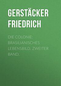 Friedrich Gerstäcker -Die Colonie: Brasilianisches Lebensbild. Zweiter Band.