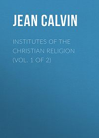 Jean Calvin -Institutes of the Christian Religion (Vol. 1 of 2)