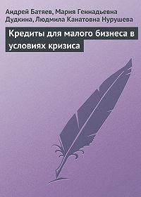 Андрей Батяев -Кредиты для малого бизнеса в условиях кризиса