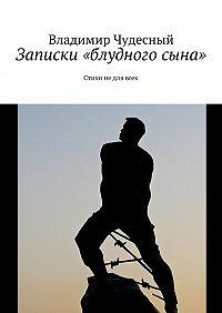 Владимир Чудесный - Записки «блудногосына»