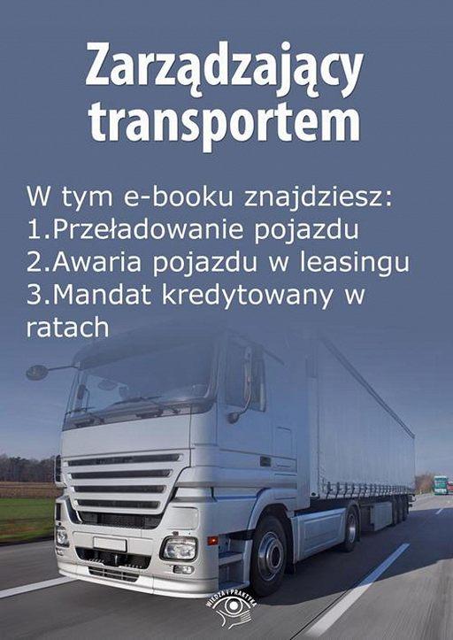 Zarządzający transportem, wydanie grudzień 2015 r.