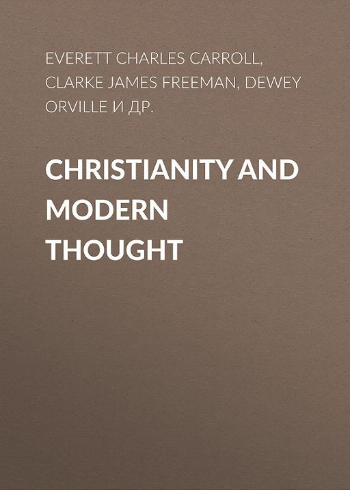 Christianity and Modern Thought