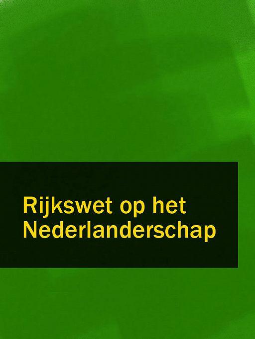 Rijkswet op het Nederlanderschap